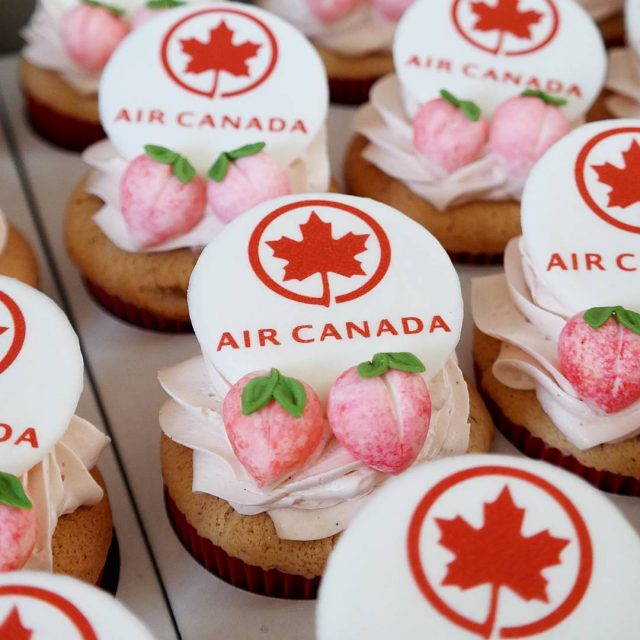 Our Newest Chiffon Cupcakes for an Air Canada x KTOhellip